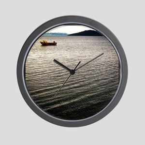 Windy Lake Wall Clock