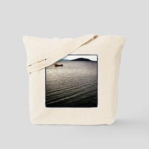 Windy Lake Tote Bag