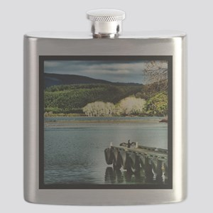 Lake Diver Flask