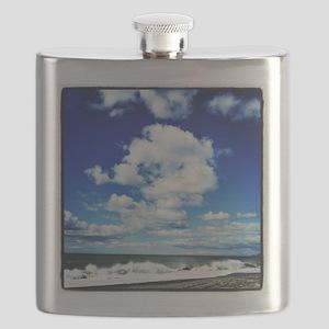 Summer Surf Flask