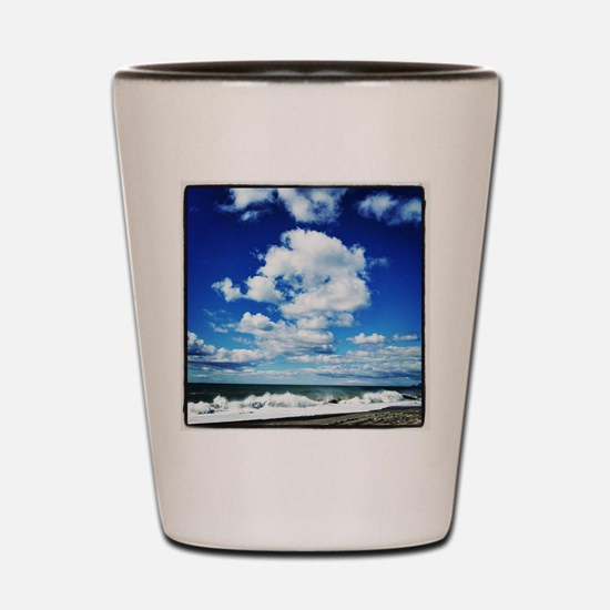 Summer Surf Shot Glass