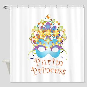 Purim Princess Shower Curtain