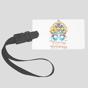 Purim Princess Luggage Tag