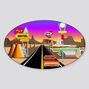 Route 66 Scene Sticker