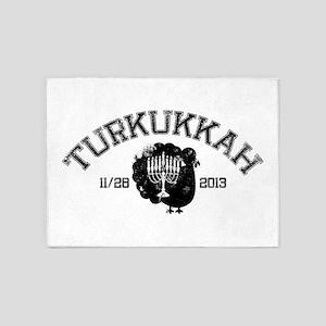 Distressed Turkukkah 5'x7'Area Rug