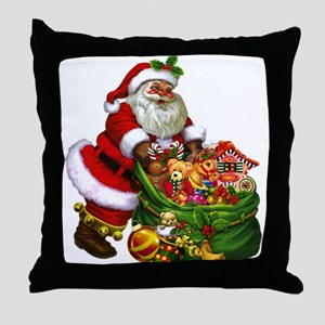 Santa Claus! Throw Pillow