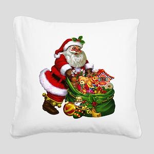 Santa Claus! Square Canvas Pillow