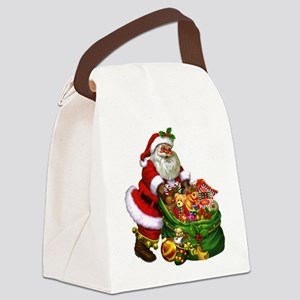 Santa Claus! Canvas Lunch Bag