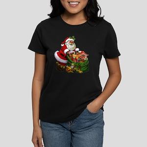 Santa Claus! Women's Dark T-Shirt