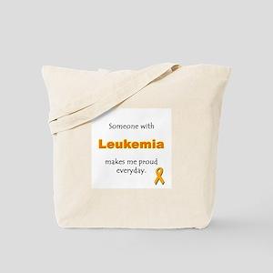 """Leukemia Pride"" Tote Bag"