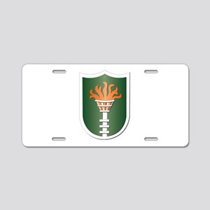 Korean Communications Zone Aluminum License Plate