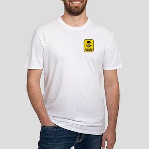 """CELIAC Skull"" Fitted T-Shirt"