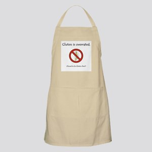 """Gluten is overrated"" BBQ Apron"