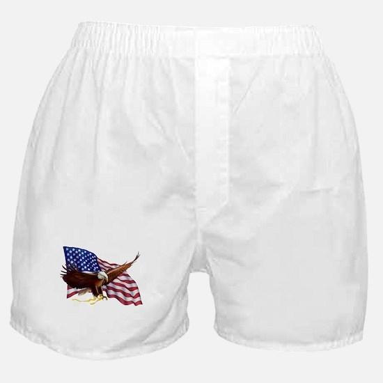 American Patriotism Boxer Shorts
