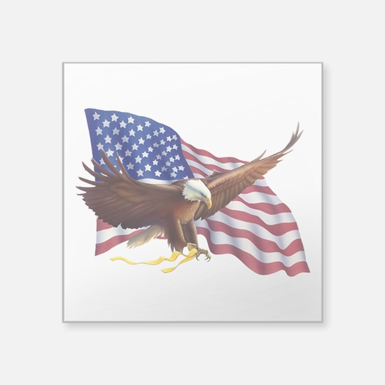 American Patriotism Sticker
