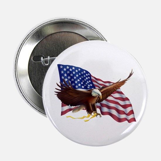 "American Patriotism 2.25"" Button (10 pack)"