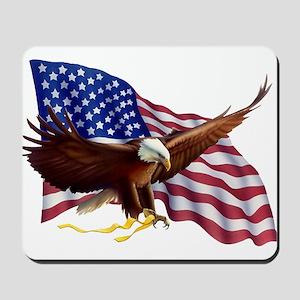 American Patriotism Mousepad