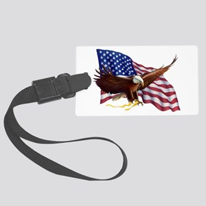 American Patriotism Luggage Tag