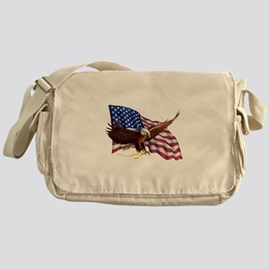 American Patriotism Messenger Bag