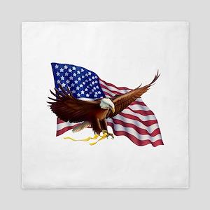 American Patriotism Queen Duvet