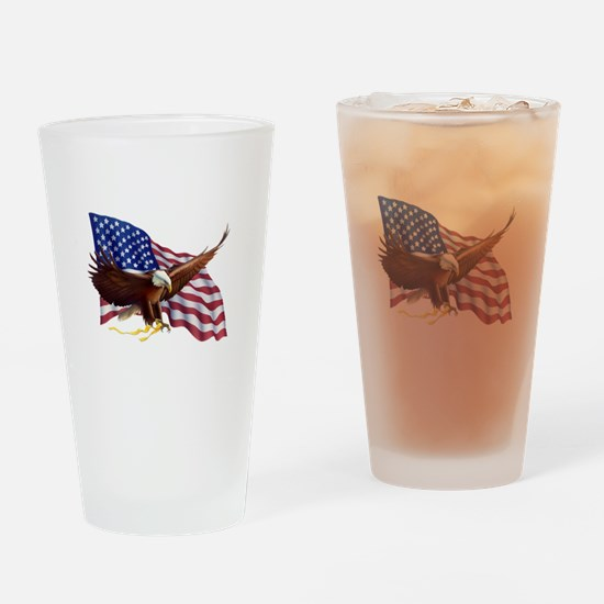 American Patriotism Drinking Glass