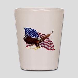 American Patriotism Shot Glass