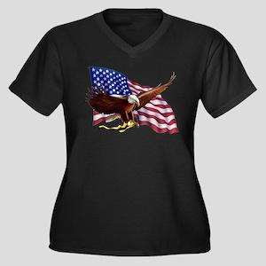 American Patriotism Plus Size T-Shirt