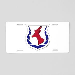 Kagnew Station - East Africa Aluminum License Plat