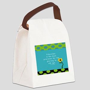 Teacher Tote 1 Canvas Lunch Bag