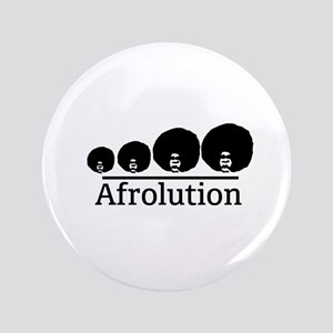 "Afro Afrolution 3.5"" Button"