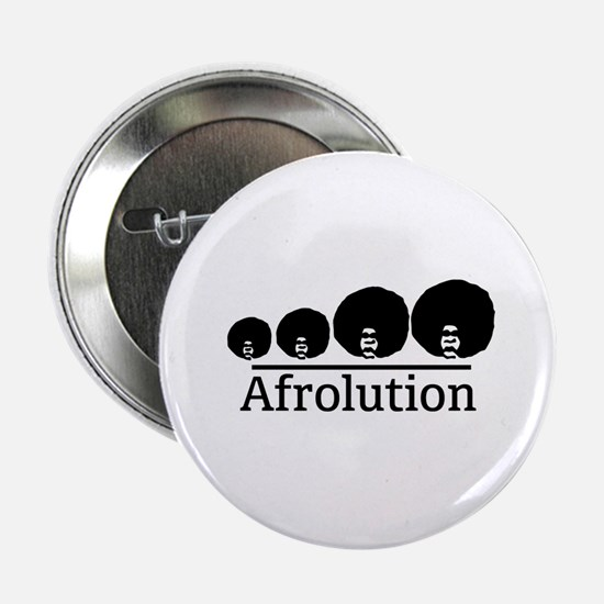 "Afro Afrolution 2.25"" Button"