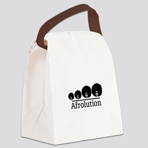 Afro Afrolution Canvas Lunch Bag
