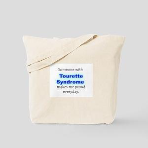 """""""Tourette Syndrome Pride"""" Tote Bag"""