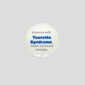 """""""Tourette Syndrome Pride"""" Mini Button"""