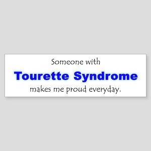 """""""Tourette Syndrome Pride"""" Bumper Sticker"""