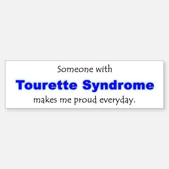 """""""Tourette Syndrome Pride"""" Bumper Bumper Bumper Sticker"""