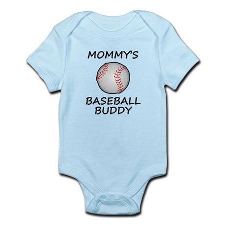 Mommys Baseball Buddy Body Suit