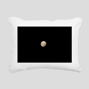 New Moon Rectangular Canvas Pillow