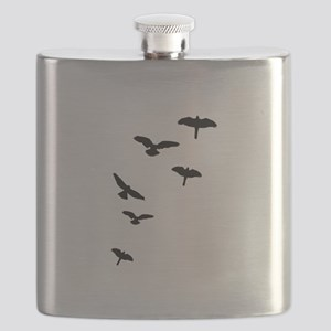 Flying Birds, the free-flying birds Flask