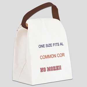 No More Common Core Canvas Lunch Bag