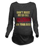 Arizona Baseball Long Sleeve Maternity T-Shirt