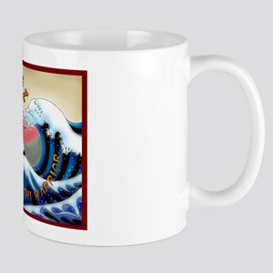 Samurai Sushi Warrior Mug