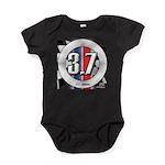 3.7 ROUND Baby Bodysuit