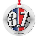 3.7 ROUND Ornament