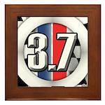 3.7 ROUND Framed Tile
