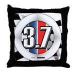 3.7 ROUND Throw Pillow