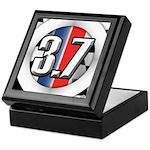 3.7 ROUND Keepsake Box