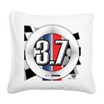 3.7 ROUND Square Canvas Pillow