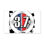 3.7 ROUND Wall Decal