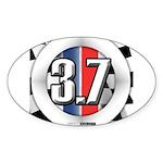 3.7 ROUND Sticker